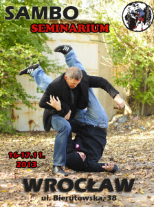 Seminarium sambo Wrocław 16-17/11/2013