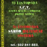 Seminarium A.C.T. & SAMBO MILITARNE (SISTEMA)