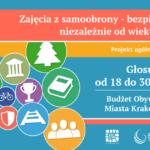 Bezpłatne zajęcia z samoobrony - głosowanie w ramach Budżetu Obywatelskiego Miasta Krakowa 2016