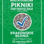 Pokazy samoobrony podczas Pikniku obywatelskiego 25.06.2017 Kraków
