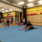 Pierwszy trening sambo dla dzieci w nowej sali