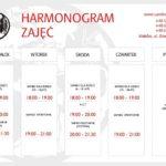 Harmonogram zajęć sambo 2018/2019 r.